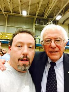 Bernie Sanders and me!